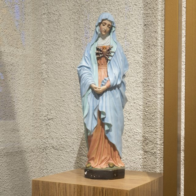 Statue of Our Lady of Sorrows from Mother Marie-Léonie's room